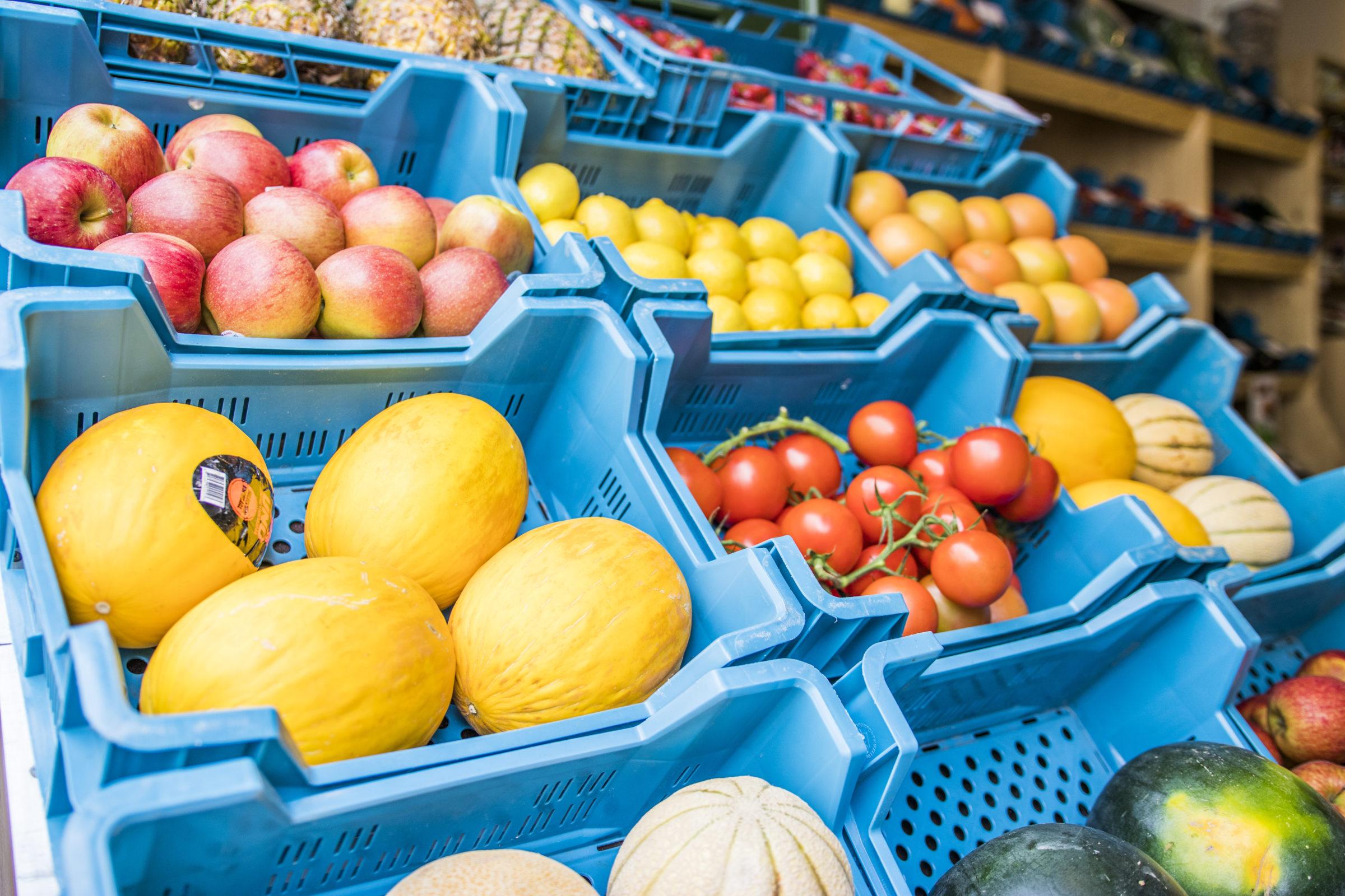 Groente en fruit Groentehal middelburg geautomatiseerd bestelproces