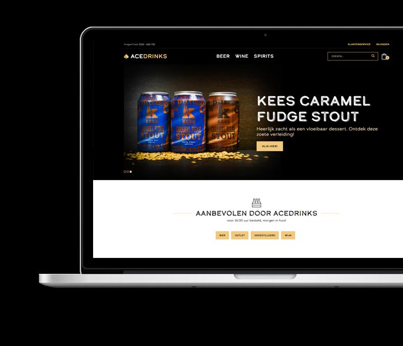 Website Case AceDrinks