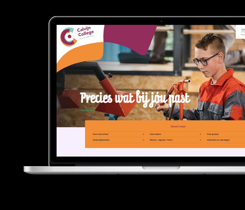 Website Case Calvijn College