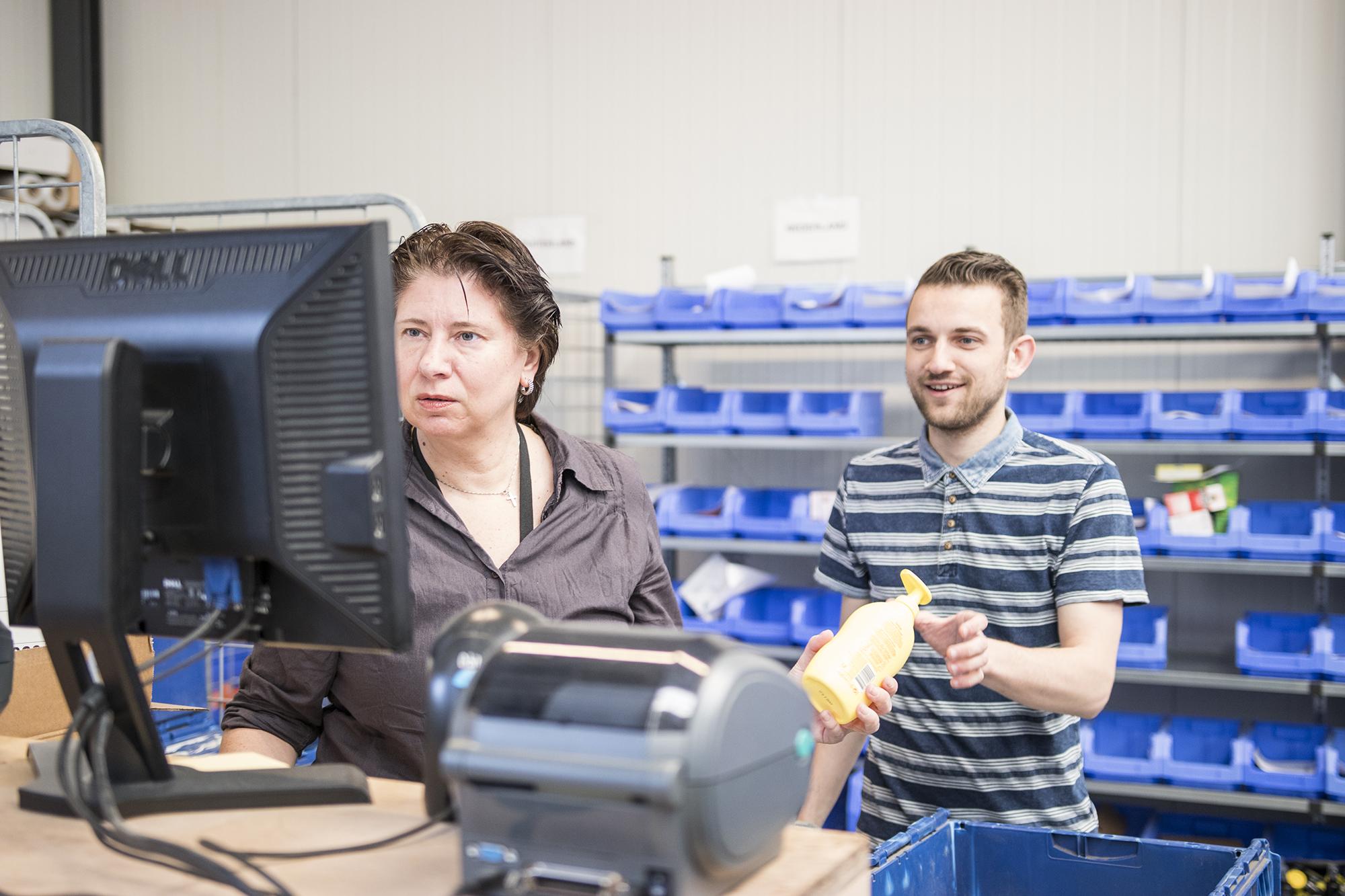 Teamwork order afhandeling Drogist.nl koppeling backofficesysteem