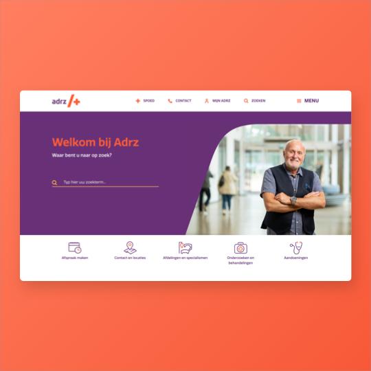 Portfolio ADRZ website ontwikkeling applicatie ontwikkeling
