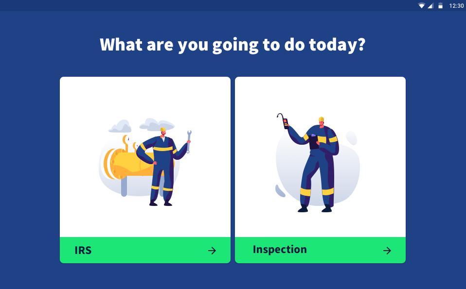 voorbeeld Gebruiksvriendelijke inspectie app Zeeland Refinery