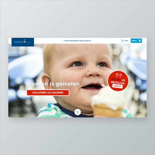Portfolio Venezia Di Agnoli e-commerce webshop online marketing applicaties app ontwikkeling