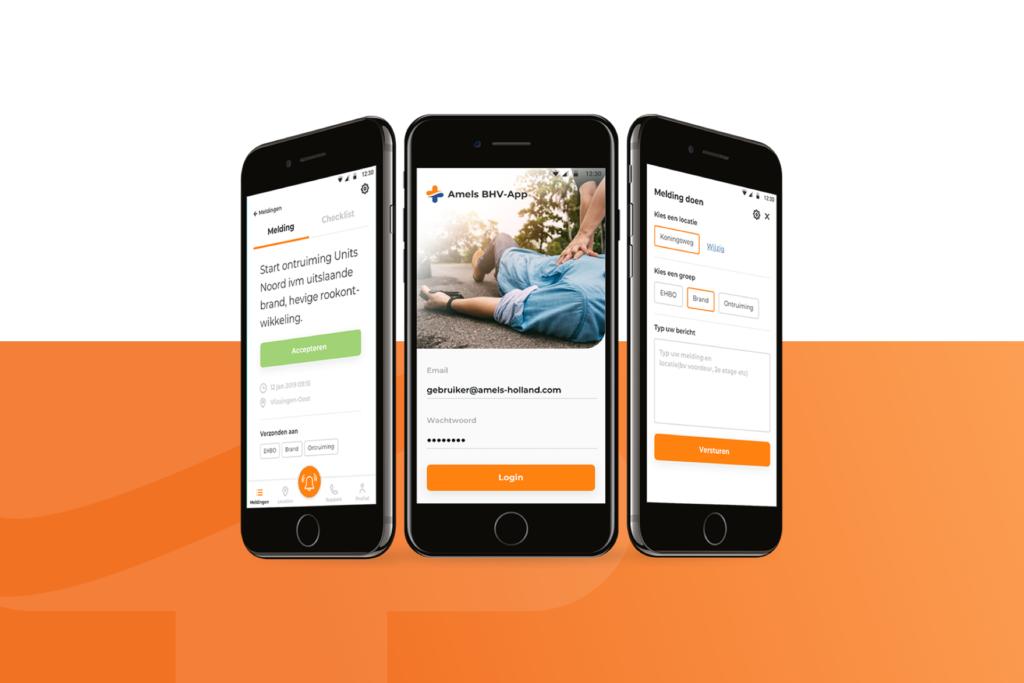 Safety first met BHV app voor Amels