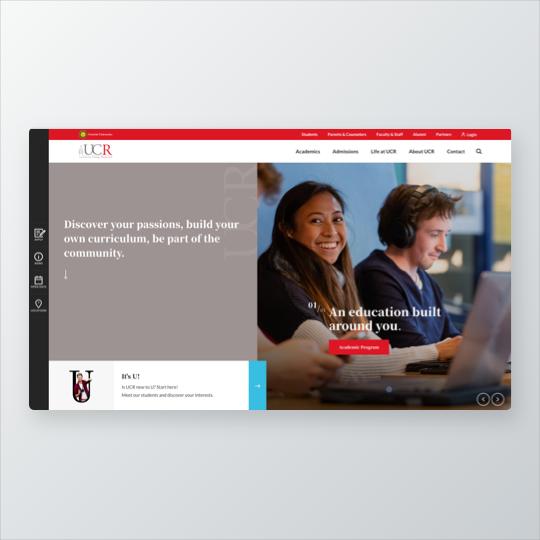 Portfolio UCR website ontwikkeling, online marketing Nedbase